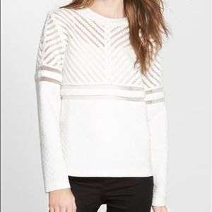 Whitney Eve bottle brush textured sweater